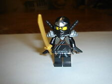 LEGO Ninjago cole ZX Minifigure with 3 swords weapons new