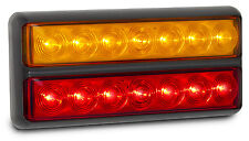 TRAILER STOP/TAIL/INDICATOR X 1 LAMP 12 VOLT  207 SERIES  LED AUTOLAMPS