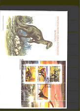 Romania 2005 Prehistoric/DINOSAURS m/s FDC n15202