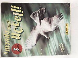 Album figurine il mondo degli uccelli Panini