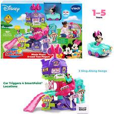 VTech Go! Go! Smart Wheels Disney Minnie Mouse Around Town Playset