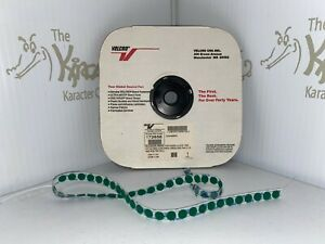 """Velcro Brand Green 1/2""""  Loop Self-Adhesive Dots- Full Roll- Free Shipping"""