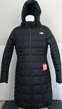 NWT The North Face Women's Metropolis Down Hooded Parka Coat Black Sz S  M, L,XL