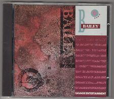 CHRIS BAILEY - savage entertainment CD