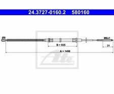 ATE Cable, parking brake 24.3727-0160.2