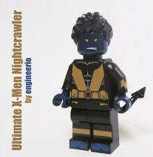 LEGO Custom -- Nightcrawler -- Ultimate X-Men Marvel Super heroes mini figure