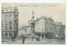 CPA PK AK BRUXELLES-SAINT-GILLES  LA BARRIERE 1908 EDITEUR LAGAERT