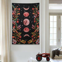 patterned Starry Moon Sky Carpet Wall Hanging Hippie Wall Blanket Tapestry