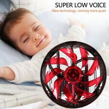LESHP CPU Cooler Hydraulic Mute Silent Fan Plastic Heat Sink Fireproof Z4 Red US