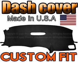 fits 2001-2007   DODGE CARAVAN  DASH COVER MAT DASHBOARD PAD / BLACK