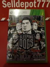 Sleeping Dogs (Microsoft Xbox 360, 2012) Brand New