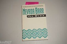 Nevada Barr, ILL WIND. 1st Edition, Uncorrected Proof, 1995. Signed Book RARE