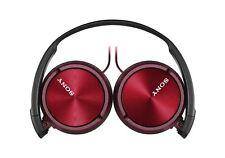 Sony Cuffie MDR-ZX310APR Cablata Pieghevole Cuffie Stereo Auricolari-Rosso