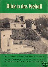 Veranstaltungspl. d. Archenhold-Sternwarte Berlin, 1975