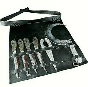 HELLRAISER Butterball's Weapons Knives Belt Realistic Halloween COSTUME Cosplay