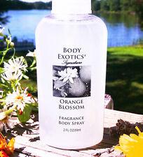 Orange Blossom Perfume Body Exotics Real Extract Fragrant Spring Orange Blossoms