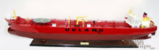 """Evita Crude Oil Tanker 44"""" Handcrafted Wooden Ship Model Display Ready"""