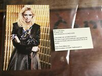 Paris Hilton Original Hand Signed Photo with COA 4 x 6 inches