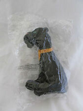 "NEW 1998 WARNER BROTHERS 7 "" KING AND I RAMA BLACK PANTHER CAT PLUSH ANIMAL"
