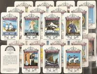 WHITBREAD-FULL SET- MARITIME INN SIGNS (M25 CARDS) - EXC