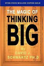 NEW The Magic of Thinking Big by David J. Shwartz