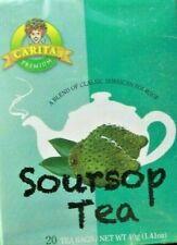 Graviola Tea (60 Bags) Soursop Annona muricata 100%  Organic