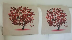 2x Pillow Cushion Cover Floral, 42x42cm $19.99 Excellent Condition as NEW