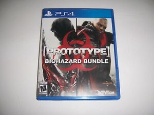 Replacement Box Case PROTOTYPE BIOHAZARD BUNDLE  Sony PlayStation 4 PS4 ORIGINAL