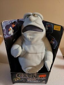 Vintage Pizza Fatso Plush Toy 1994 Tyco Nite Glow Eyes Casper Friendly Ghost 14""