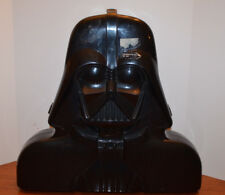 VINTAGE STAR WARS DARTH VADER ACTION FIGURE CARRYING CASE WITH INSERT & STICKERS