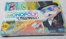 Monopoly for Millennials Millenials Board Game VHTF Hot Christmas Toy Hasbro NEW