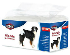 Trixie Dog Diapers Nappies 6 Sizes Dogs in Season & Leaking Single 6 or 12 PK Xs/s - 23631 1