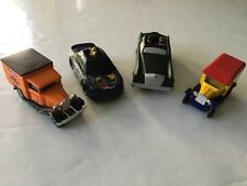 Lot of 4 Burger King / Kellogg's Cereal Scooby Doo Cartoon Network Cars Trucks