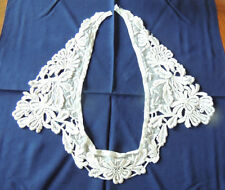 """Antique French lace  Collar early 1900- 24 """"Long,"""