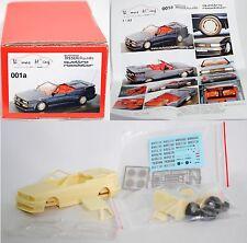 001a treseraudi quattro roadster Kit, 1:43, limitée (limited Edition)