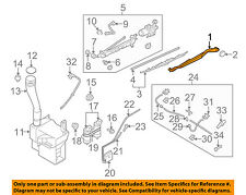 SUBARU OEM 06-07 B9 Tribeca Windshiled Wiper-Front Arm 86532XA02A