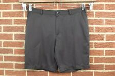 Nike Golf Sport Shorts Mens Size - 40 Black Athletic Casual Flat Front Dri-Fit