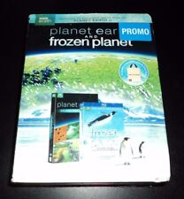 Planet Earth (DVD) & Frozen Planet (Blu-Ray) Combo - BRAND NEW & FACTORY SEALED!