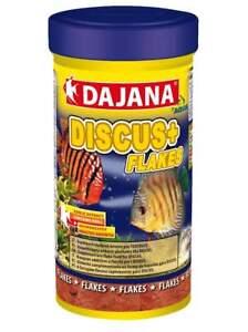 Dajana DISCUS + (PLUS) flake food – garlic – anti-parasite 250ml 50g - BBE 11/21