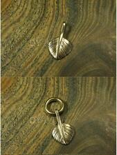 Vintage Fob Solid Brass shackle Mini Angle Wing key chain ring hook wallet clip
