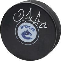 Daniel Sedin Vancouver Canucks Signed Hockey Puck - Fanatics