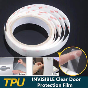 Universal 196 inch Clear Car Sill Door Paint Protector Film TPU Moulding Sticker