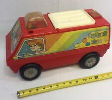 Very Rare VTG 70's 80s Playskool POPPER VAN Toddler Ride On Or Push Hippie Toy
