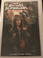 BATMAN SUPERMAN #1 JOHN GIANG VARIANT COVER HOT ARTIST LIMITED TO 3000