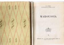 Maroussia * P J  STAHL * EO ROUGE et OR  SOUVERAINE 1955 EO n° 88