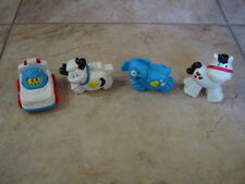 Lot of 4 Vintage 1996-1997 McDonalds Fisher Price Happy Meal Toys