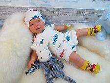 ninisingen Reborn Reallife Lino NEU Puppe Babypuppe Rebornbaby Baby Rebornpuppe