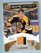 2012-13 Upper Deck UD Game Jersey (2 color) Ray Bourque