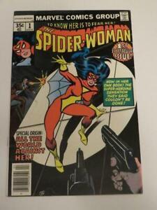 SPIDER-WOMAN #1 VF New Origin of Spider-Woman