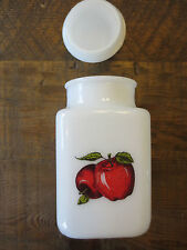 Vintage Milk Glass Canister (Pyrex?)